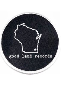 Image of Good Land Records Embroidered Patch