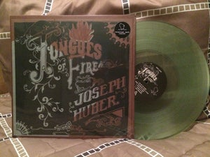 Image of Joseph Huber • Tongues Of Fire (Limited Clear Coke Bottle Green) LP