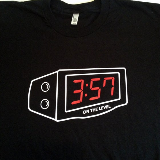 Image of Digital  3-5-7 clock shirt