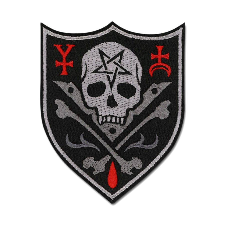 Image of Skull Shield Patch
