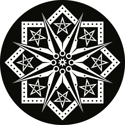 Image of Star Compass Sticker