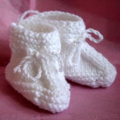 Image of Sweet booties for baby