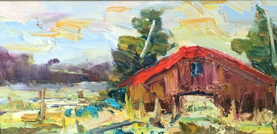 Image of Red Roof - 8x16