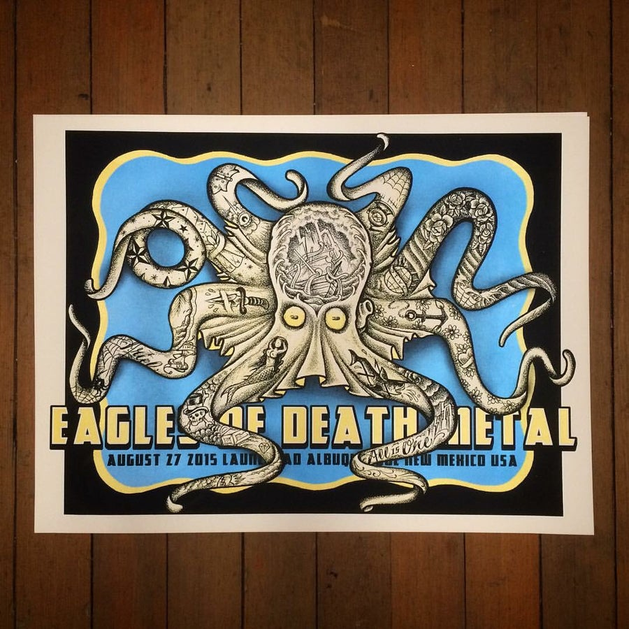 Image of Eagles of Death Metal - 8/27/2015 - Launchpad - Albuquerque, NM