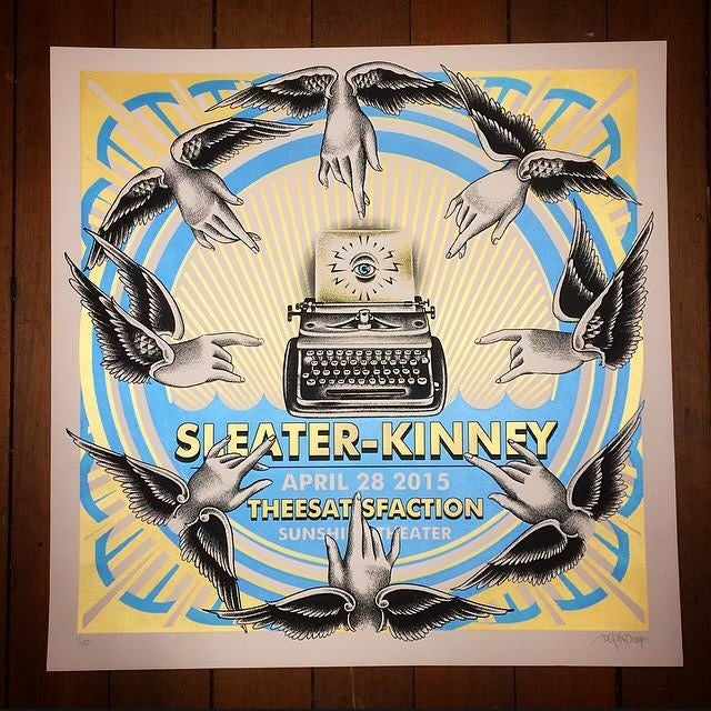 Image of Sleater-Kinney - 4/28/2015 - Sunshine Theater - Albuquerque, NM