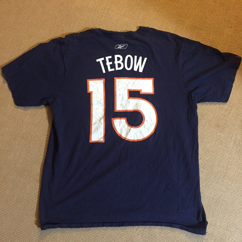 Image of Tim Tebow Broncos Shirt Jersey