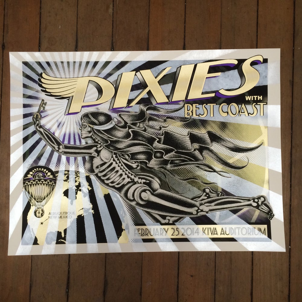 Image of Pixies - 2/25/2014 - Kiva Auditorium- Albuquerque NM