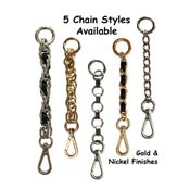 Image of All-in-one Accessory: Strap Extender / Key Fob Bag Tether / Chain Wristlet / Key Chain / #14B Hook