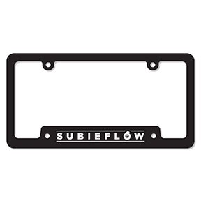 Image of SubieFlow License Plate Frames