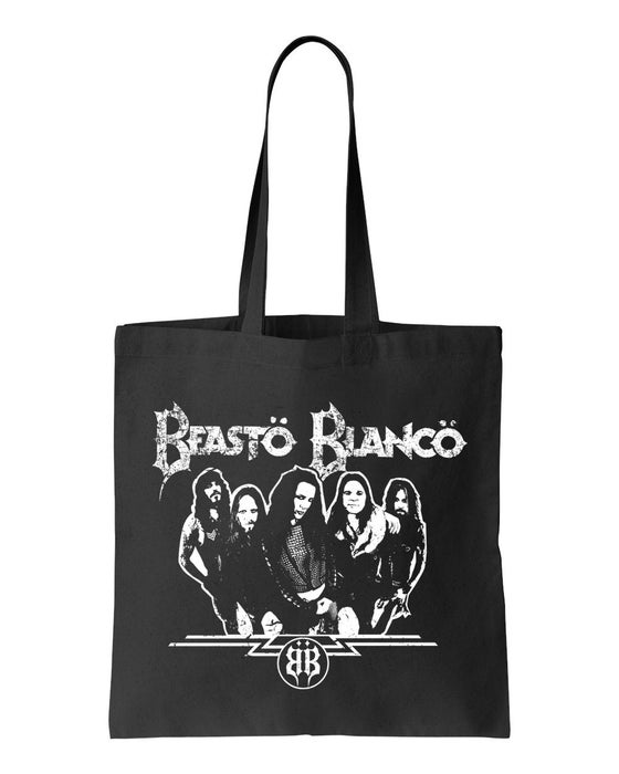 "Image of BEASTO BLANCO - 2015 - ""BAND"" LOGO BLACK BAG"