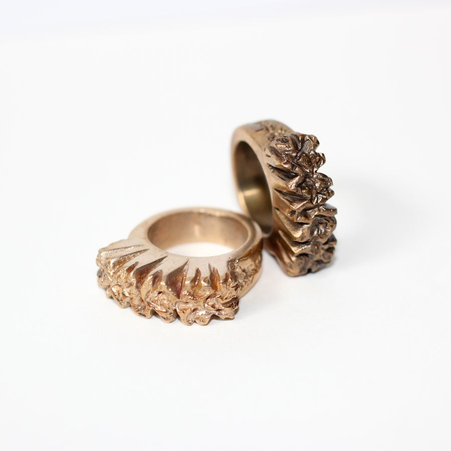 Image of Graffiato Cocktail Ring