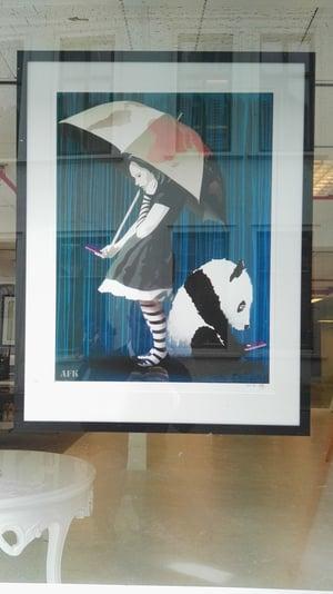 """Image of AFK - """"Rain"""" print"""