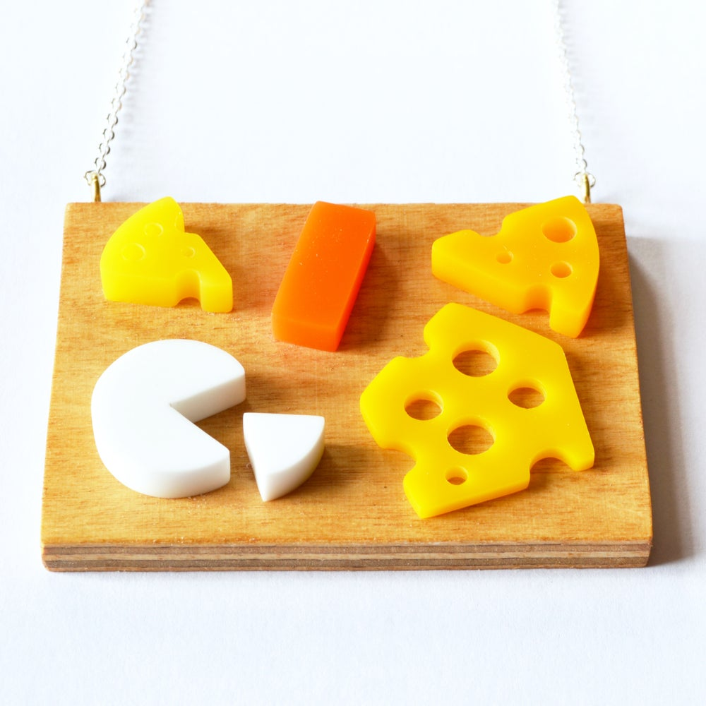 Image of Cheese Board necklace