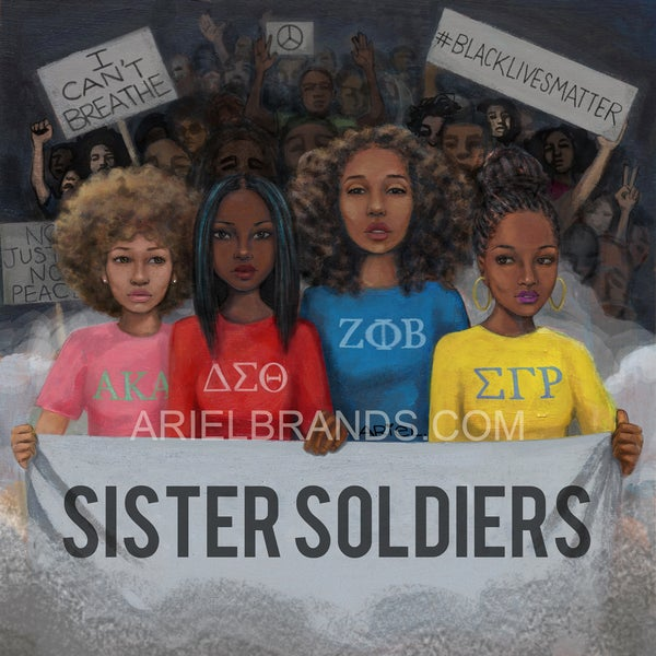 Image of Sister Soldiers POSTER/PRINT
