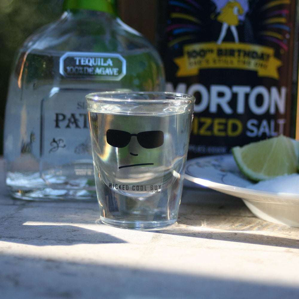 Image of Wicked Cool Guy Shot Glass