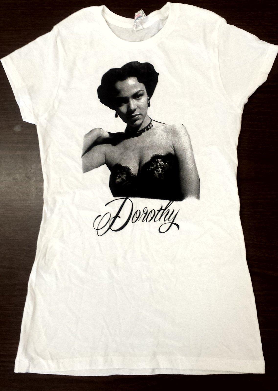 N R N R Apparel Dorothy Dandridge Junior Tee