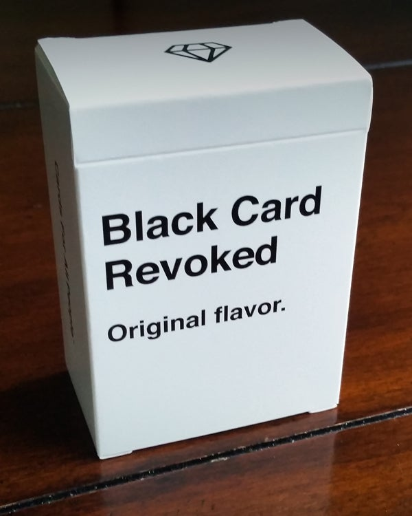 Image of Black Card Revoked - Original Flavor