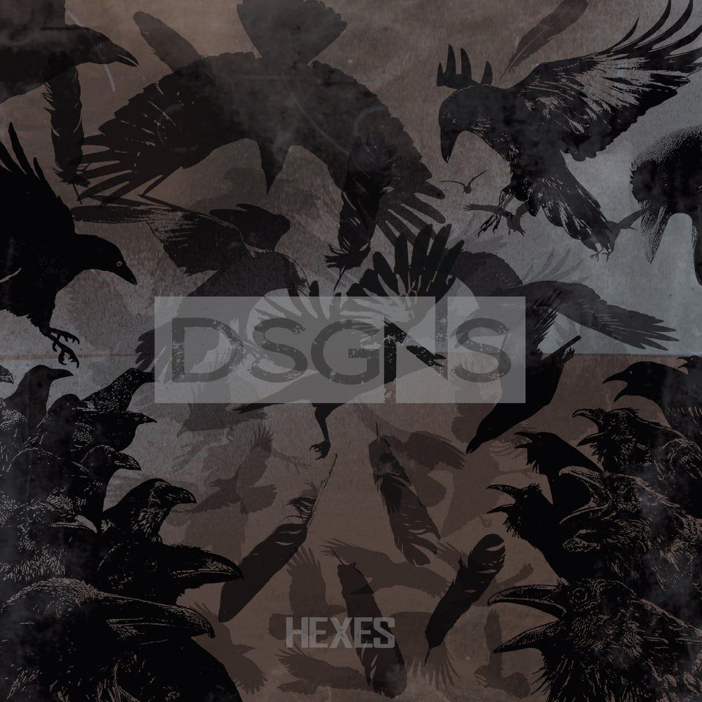 "Image of 'HEXES' 12"" Vinyl"