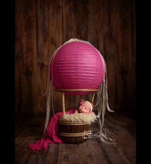 Image of {Use with NEWBORN Hot Air Balloon} Woodsy Wonders Hot Air Balloon {with out basket}
