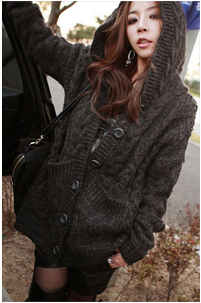 Image of HOT CUTE COAT WITH CAP FASHION