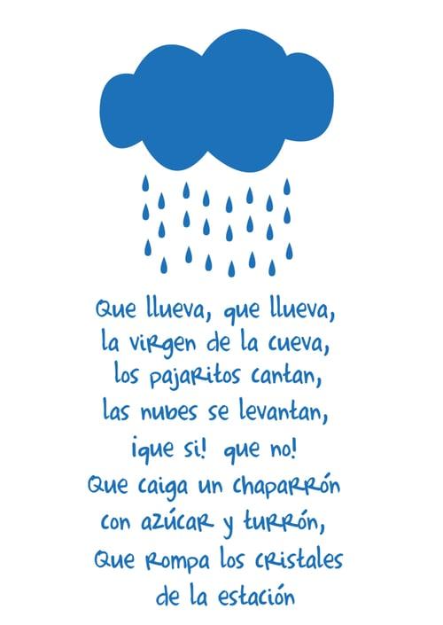 Image of Vinilo Cuento que llueva