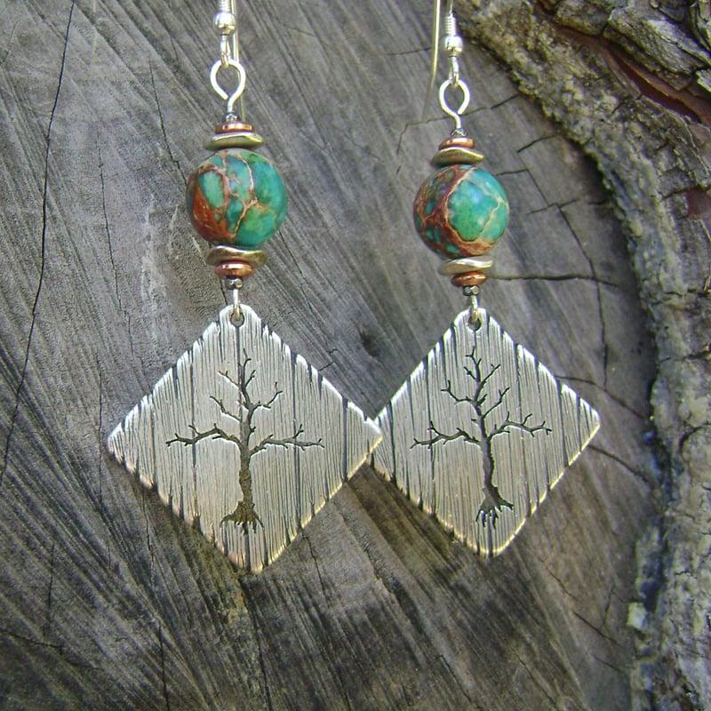 Image of Árvore earrings