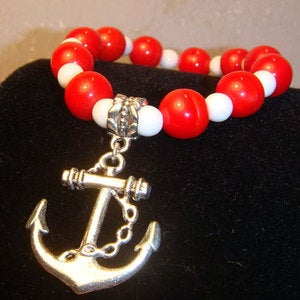 Image of Lifesaver Anchor Bracelet - FREE with purchase of 30.00 or more!