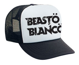 "Image of BEASTO BLANCO - ""TRUCKER HAT"""