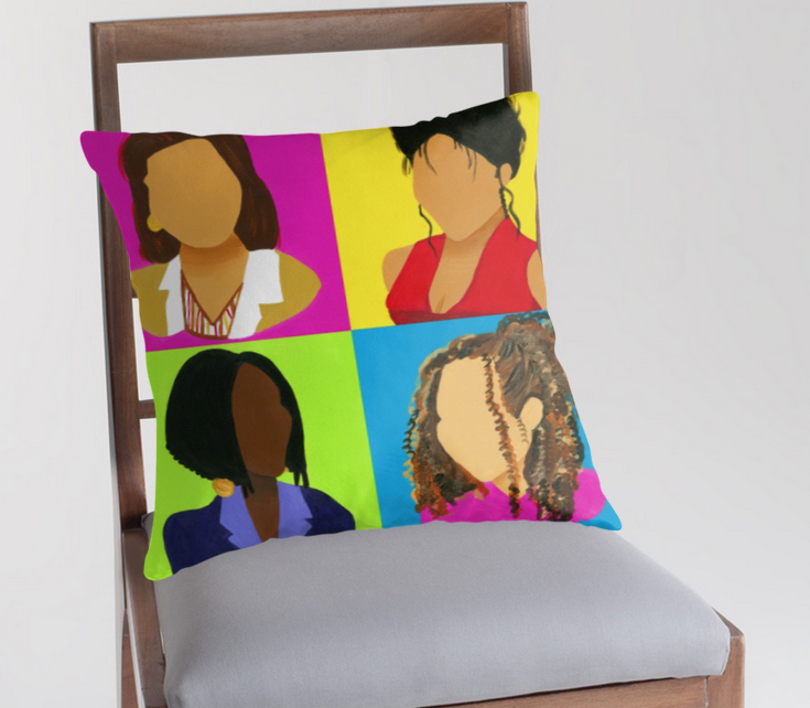 Image of My Girls (Pillow)