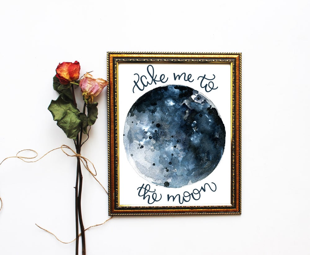 Image of Take me to the moon