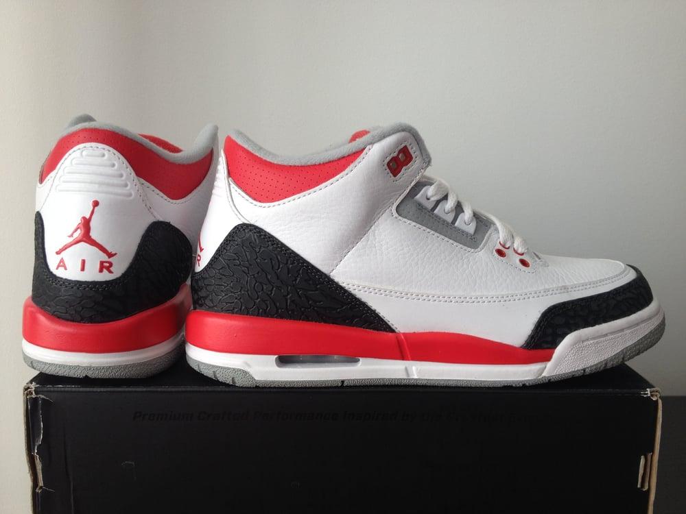 nouveau produit 84dd3 a0d1d Jordan 3 Fire Red GS 2013