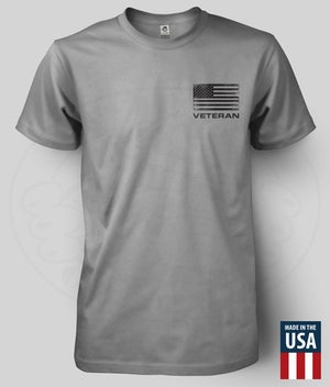 "Image of FREEDOM IS NEVER FREE ""VETERAN"" T-Shirt"