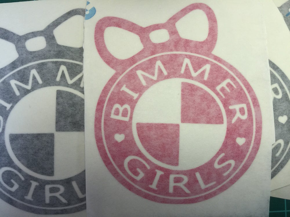 Image of Bimmergirls logo with BOW