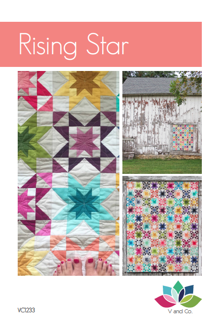 V And Co Rising Star Quilt Pattern Pdf