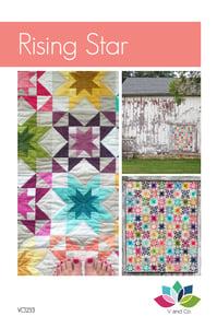 Image of Rising Star Quilt Pattern PDF