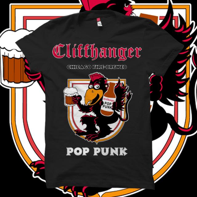 Image of Cliffhanger Root Beer Pop Punk T-Shirt