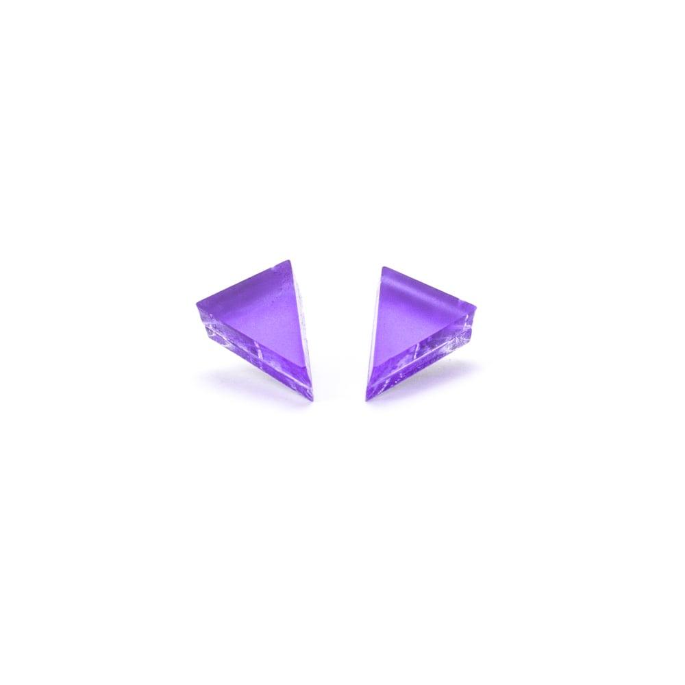 Image of Náušnice Triangle 1 mini v 6 barvách