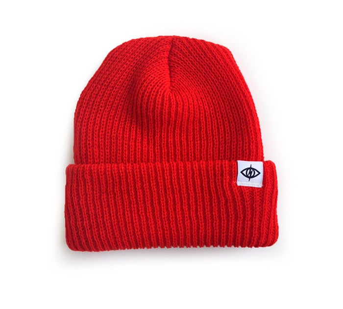 Image of WATCHCAP [ pure red ]