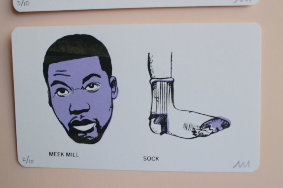 Image of Meek Mill / broke ass sock