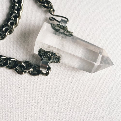 Image of ASHOTEP I • 2-Way Quartz Necklace