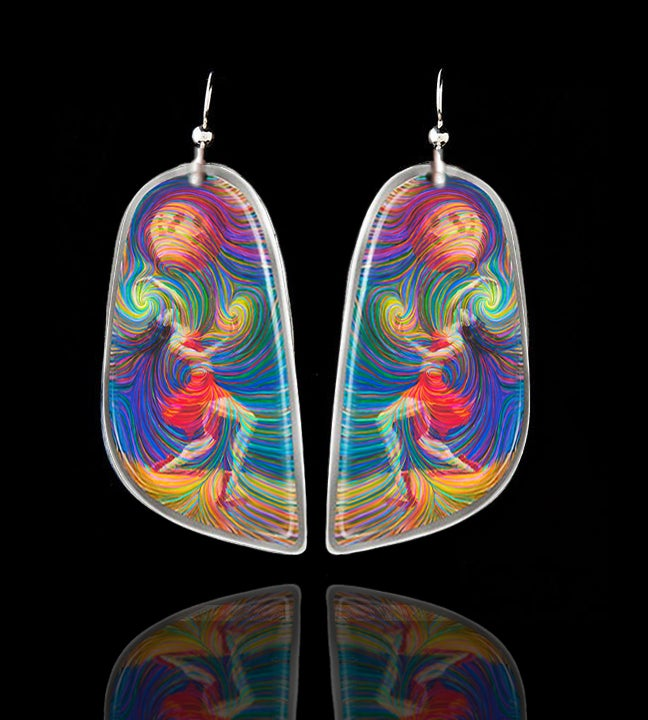 "Image of ""Moon Dancer"" Energy Earrings"