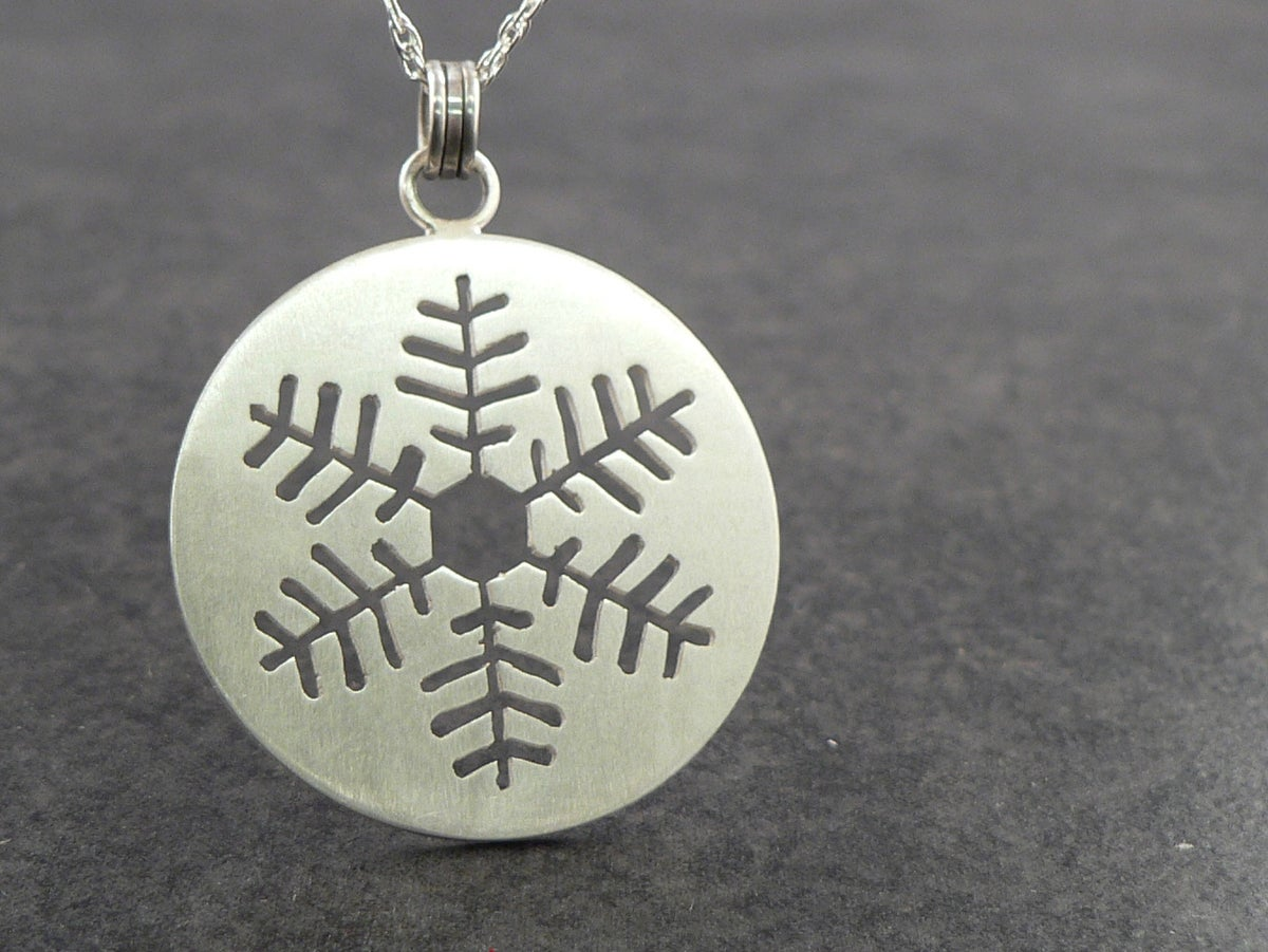 Image of Inset Snowflake