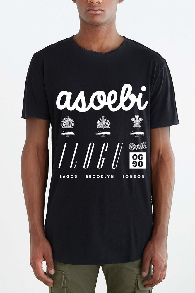 Image of Asoebi Tall Tee (front)