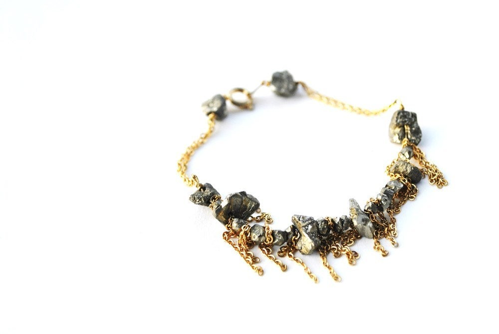 Image of Pyrite Princess Bracelet