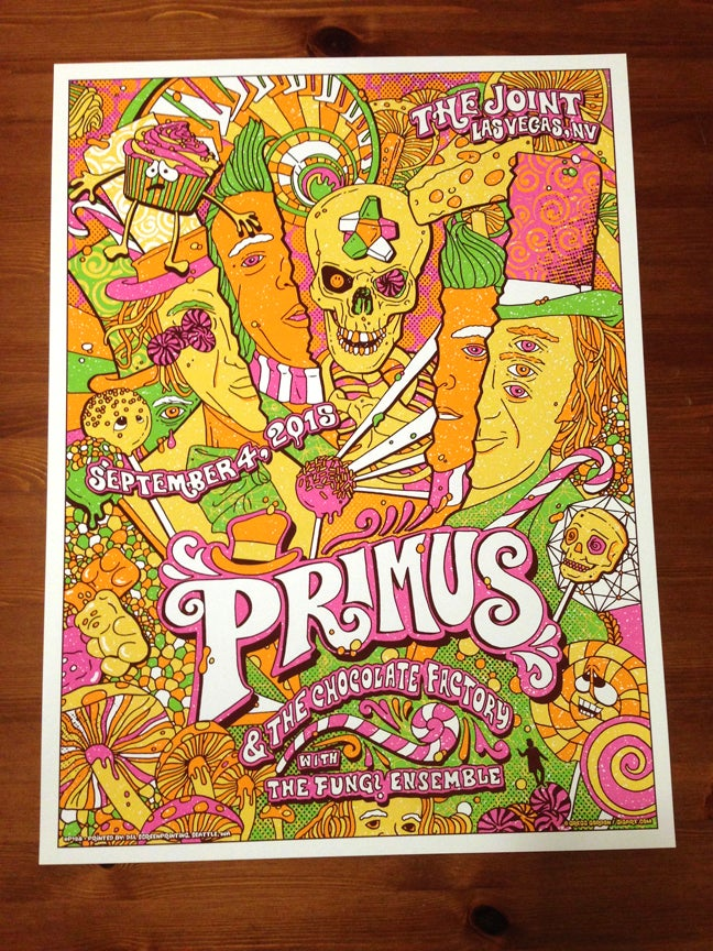 Image of Primus & The Chocolate Factory Main Show Edition