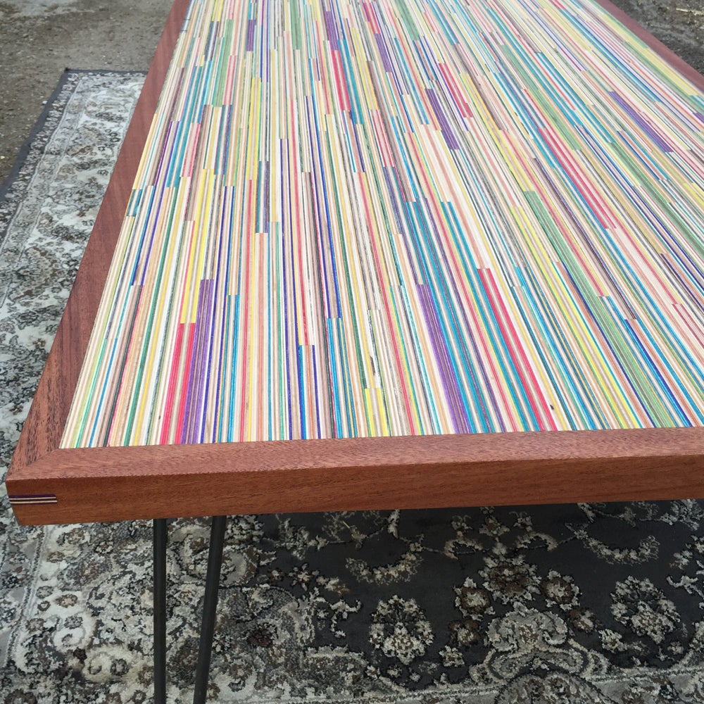 Image of Recycled Skateboard Coffee Table