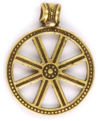 Image of SOLAR WHEEL - Wheel of the year