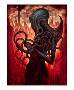 "Image of Cthulhu- 8x10"" Open Edition Print"