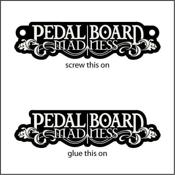 Image of Pedalboard Madness Badge (Preorder)