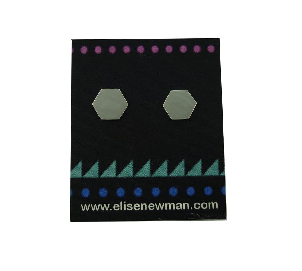 Image of Hexagon Studs